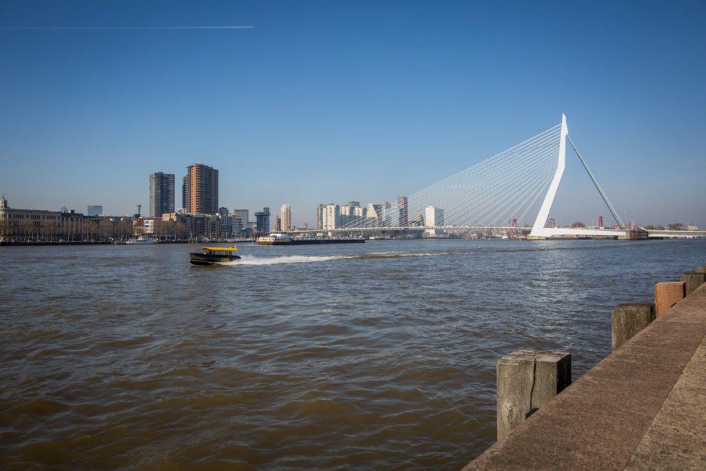 Rotterdam hotel zakelijk fotografie Erasmusbrug foto